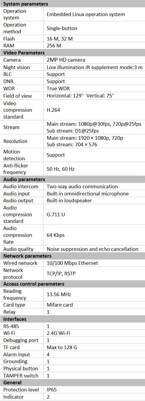 Hikvision DS-KV8103-IME2