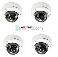 Hikvision DS-2CD2142FWD-I x4